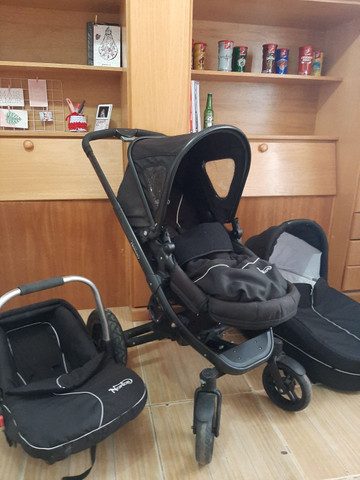 Carrinho de bebe Norton 3 em 1 moises, Mobi e carrinho