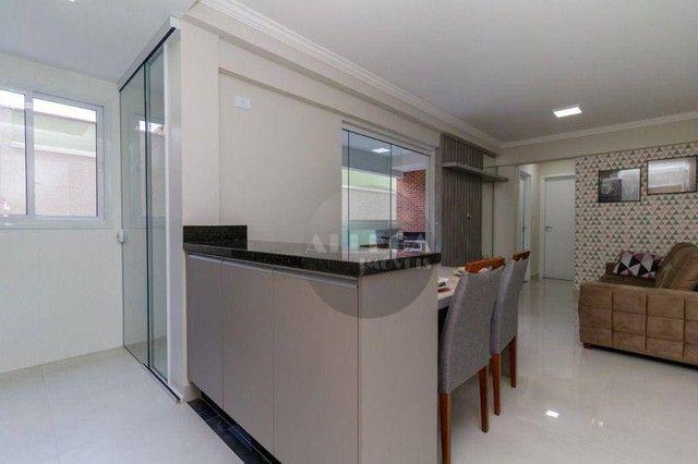Apartamento Garden com 2 dormitórios à venda, 59 m² por R$ 427.000,00 - Fanny - Curitiba/P - Foto 2