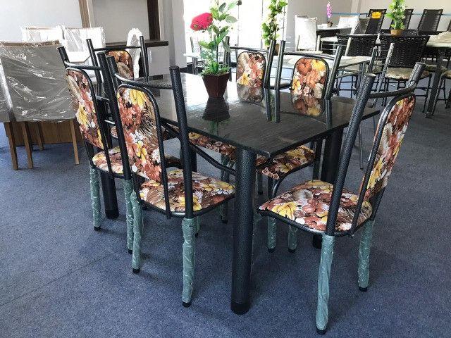 Mesa Isabela 6 Cadeiras 140x75 Florida - Foto 5