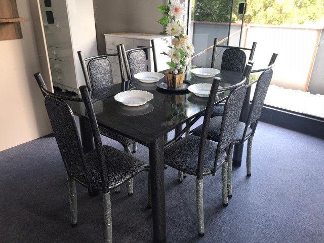 Mesa Isabela 6 Cadeiras 140x75 - Foto 2
