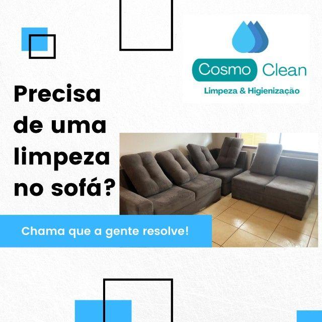 limpeza e higienização sofá colchao poltronas carros - Foto 4