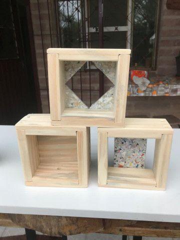 Caixa modelo INPA abelhas sem ferrão - ASF - Foto 5