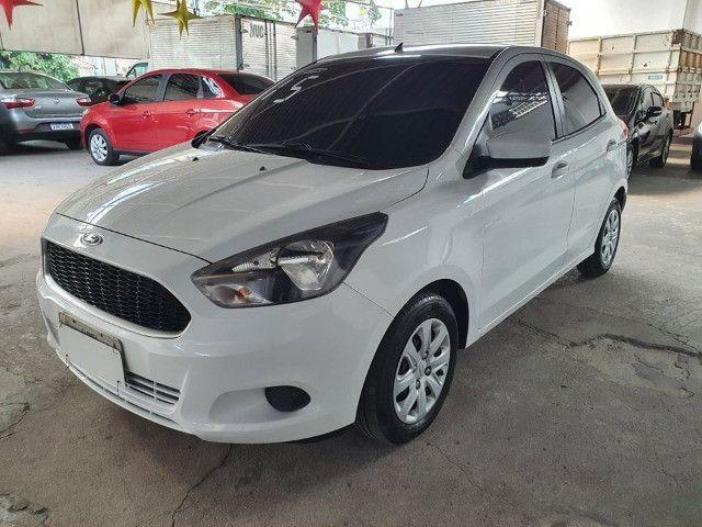 Ford Ka 1.0 Completo !!! Vistoriado 2021 !!! Todas as revisões feitas pela Autofort  - Foto 4