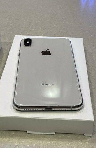Apple iPhone XS Max 64gb Branco Perfeito Estado e Bateria Nova - Foto 4