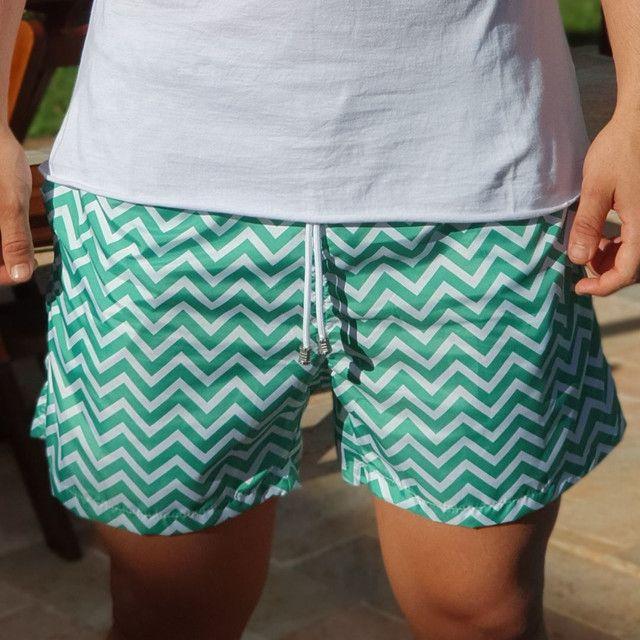 Short moda praia - Foto 5