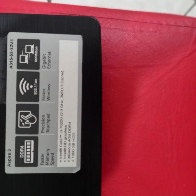 Notebook Acer Aspire 3  7th Geração  - Foto 4