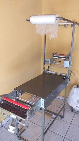 Máquina de fábrica fralda semi nova  - Foto 2