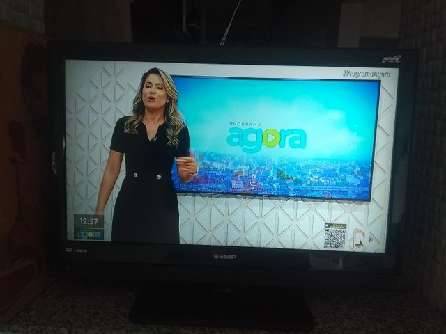 """Tv 32"""" LCD Semp Toshiba LC3245 c/ entradas HDMI - Foto 3"""