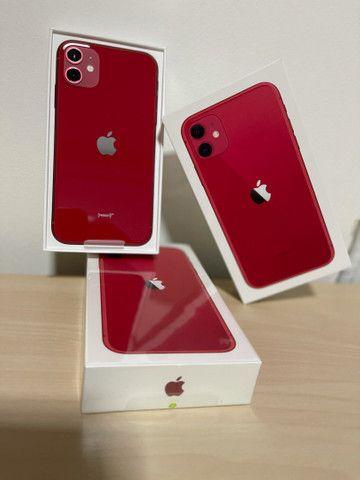 iPhone 11 64gb RED Lacrado  - Foto 6