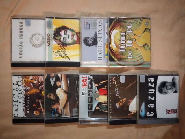 """Coleção de CDs Internacional e Nacional  POP Antigos """"ORIGINAIS""""<br> - Foto 2"""