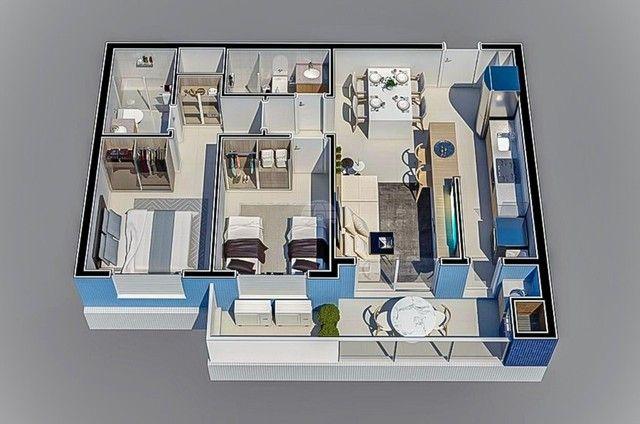 Apartamento à venda com 3 dormitórios em Caioba, Matinhos cod:155296 - Foto 16
