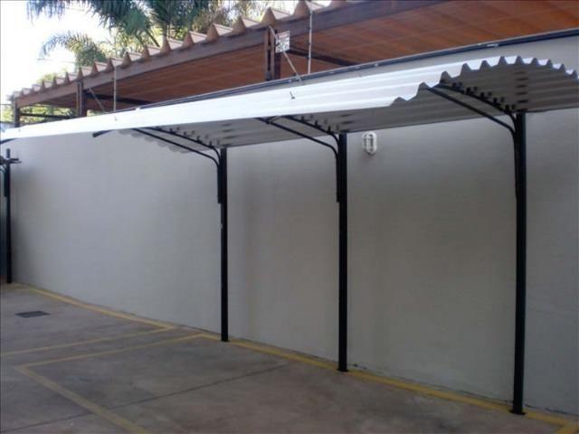 Coberturas com forte estrutura outros campo grande for Carriles de aluminio para toldos