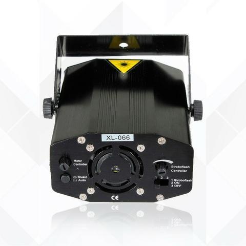 Mini Laser Stage Lighting Projetor Holografico 4 Desenhos - Foto 5