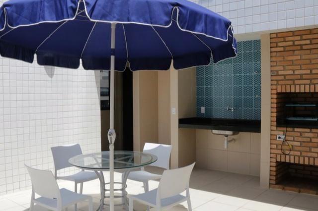 Apt novo, nascente, Jatiúca,3 quartos,1 suíte, 2 vagas, 110 m², área de lazer, só 594 mil! - Foto 4