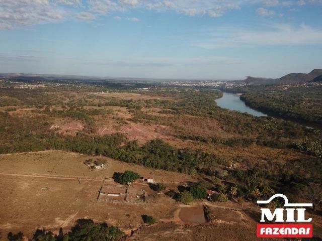 4 km de margens do Rio Araguaia. Fazenda 96 alqueires 464.64 Hectares - Aragarças-GO