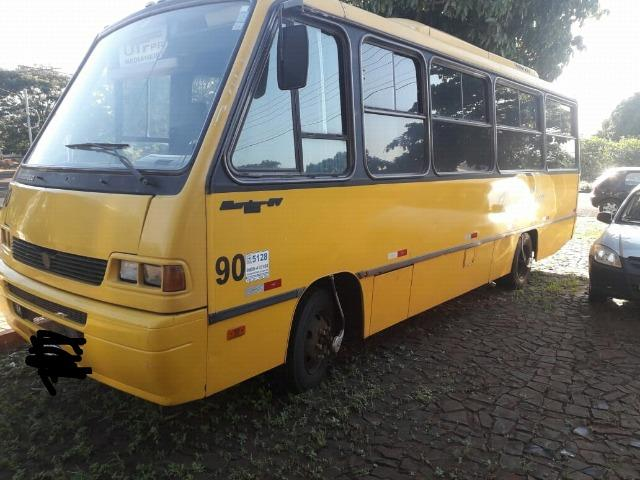 Onibus marcopolo senior MWM 814 ano 1997 com ar