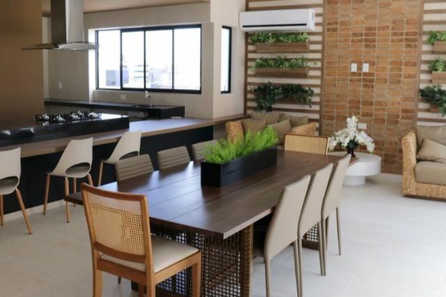 Apt novo, nascente, Jatiúca,3 quartos,1 suíte, 2 vagas, 110 m², área de lazer, só 594 mil! - Foto 7