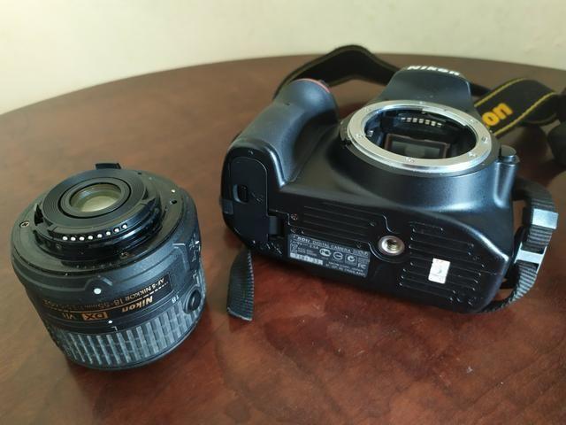 Câmera profissional Nikon D3200 - Foto 2