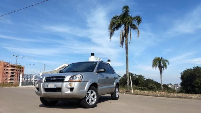 Vendo Hyundai Tucson manual com GNV - Foto 3