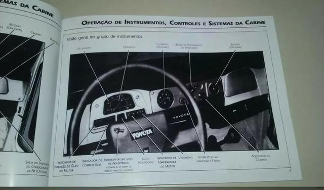 Manual Toyota Bandeirante 14b - Foto 5