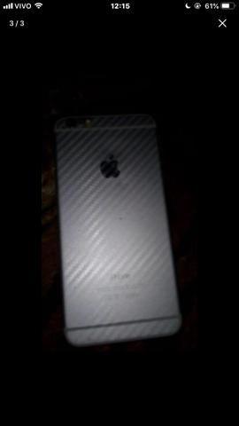 IPhone 6plus 32gigas poucas marca de uso pra vende ou troca - Foto 2
