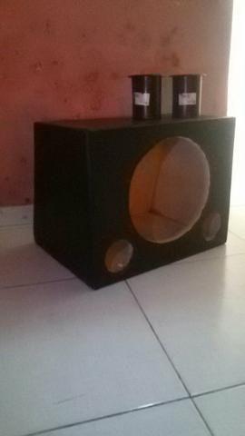 Celular e caixa de som (12 polegadas) - Foto 6