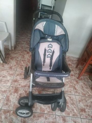 Carrinho de bebê unissex - Foto 2