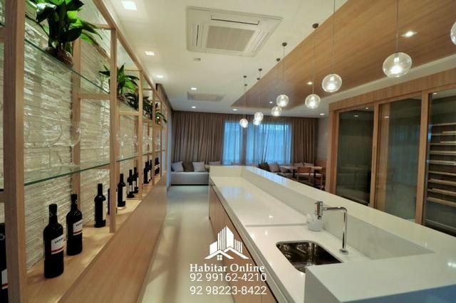 Atmosphere apartamento no Adrianópolis alto padrão na promoção - Foto 8