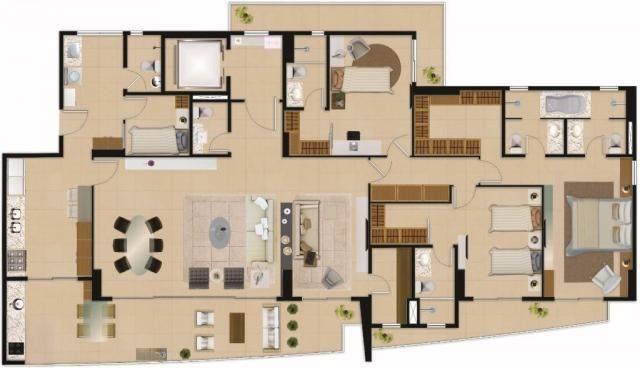 Apartamento residencial à venda com 04 suítes, aldeota, fortaleza. - Foto 17