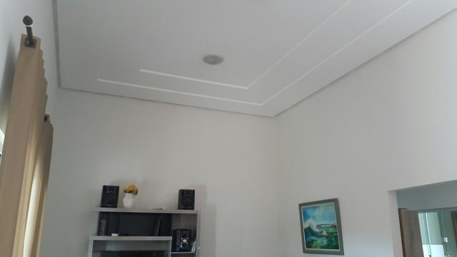 Casa 3quartos laje suite churrasqueira rua 6 Vicente Pires condomínio fechado lote 200m2 - Foto 3