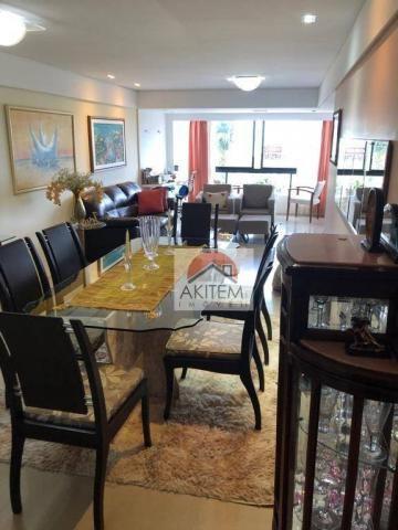 Apartamento na Beira Mar com 4 dormitórios à venda, 146 m² por R$ 620.000 - Casa Caiada -  - Foto 11
