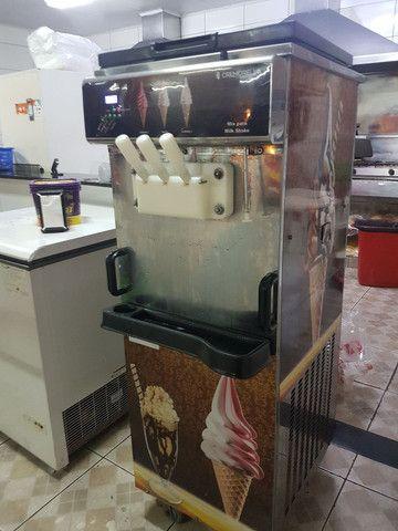 Máquina de sorvete italiano