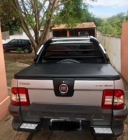 Fiat Strada Adventure 1.8 Locker Flex CD cabine dupla - Foto 4