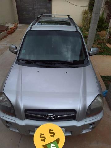 Tucson 09/10 automática, completa, com teto solar, Motor v6, 4x4, pneus bons toda revisada - Foto 5