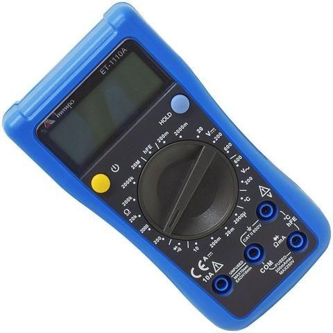 Multímetro Digital Et-1110A Minipa - Foto 2