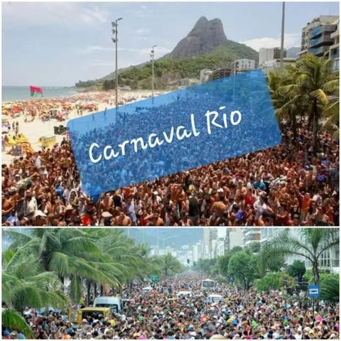 Promoção para carnaval no rio