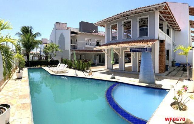 Village Dunas Del Mare, casa tríplex com 3 quartos, 2 vagas, Manoel Dias Branco - Foto 8