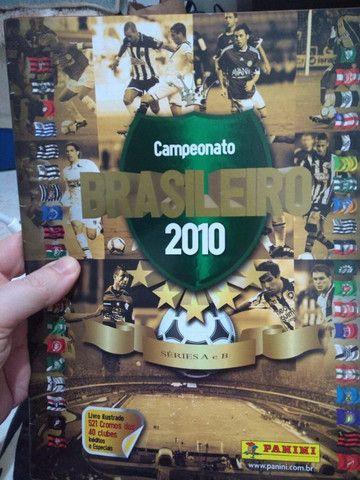 Álbum de Figurinhas ?Campeonato Brasileiro 2010?; Vazio