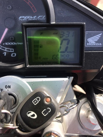 Honda Cb300 Modelo 2011 Alarme Positron 2020 Pg 12x Cartão - Foto 3