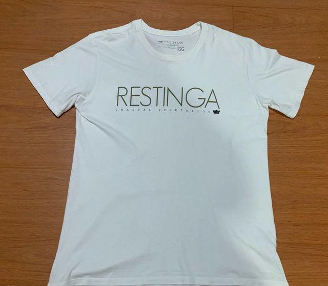 Camiseta nativa usada GG