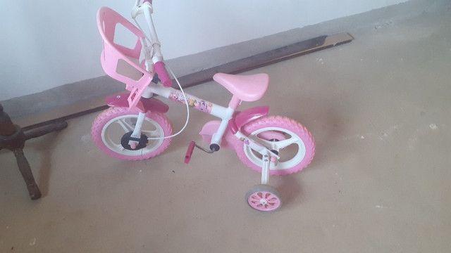 Bicicleta e velotrol