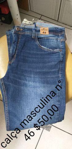 Calças novas masculinas  - Foto 6