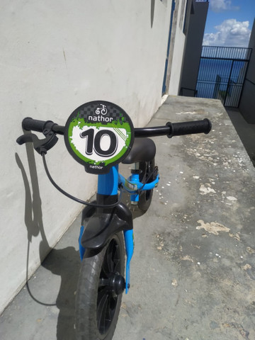 Bicicleta Infantil Nathor (Equilíbrio - sem pedal)