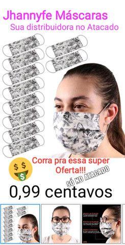 Venda de Máscaras no Atacado Super Promoção - R$0,99 centavos