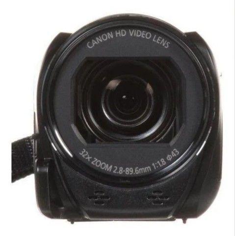Câmera  semiprofissional Canon Vixia HF R800 Full HD  - Foto 3