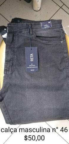 Calças novas masculinas  - Foto 5
