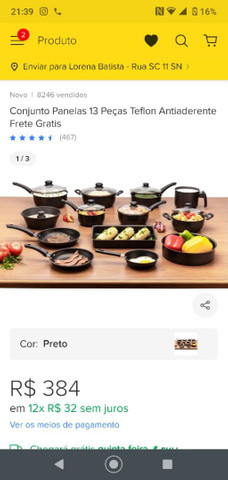 Conjunto para cozinha - Foto 5