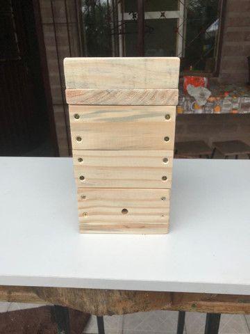 Caixa modelo INPA abelhas sem ferrão - ASF - Foto 6
