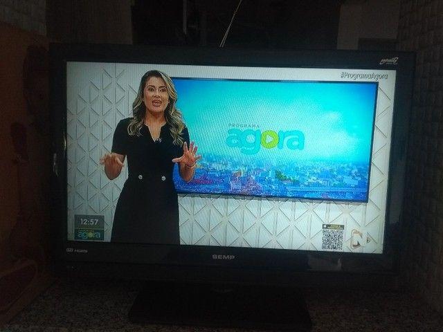 """Tv 32"""" LCD Semp Toshiba LC3245 c/ entradas HDMI - Foto 4"""