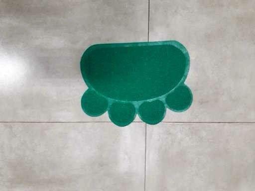 Tapete pet (patinha), brindes: sachê de ração sólida + Comedouro de plástico de 300 ml - Foto 2